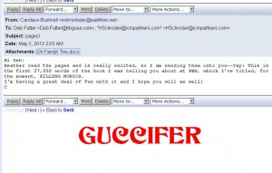 Guccifer strikes again: candace bushnell hacked